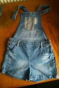 Girls Dungaree Shorts