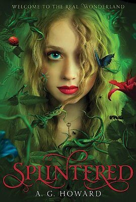 Complete Set Series - Lot of 4 Splintered books by A.G. Howard (Fantasy) YA