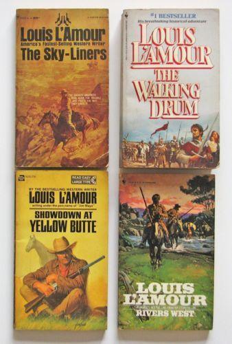 Set Louis Lamour Books Ebay