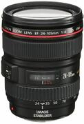 Canon 24-105MM F4 L Is USM Lens