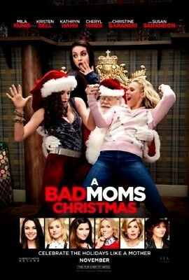 A Bad Moms Christmas (DVD 2017) NEW*Comedy* PRE-ORDER SHIPS ON  02/06/18