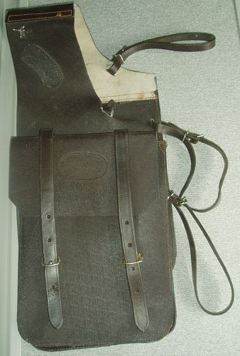 Foxwood Trail Saddle Bags Brown Leather - Large Pockets - Sturdy Hardware