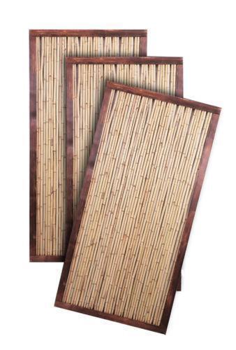 Bamboo Fence Panels Ebay