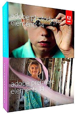 Adobe Photoshop Elements 14 & Premiere Elements 14 PC / Mac (New & Sealed)