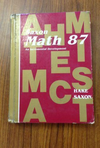 Saxon math textbooks education ebay saxon math 87 fandeluxe Gallery