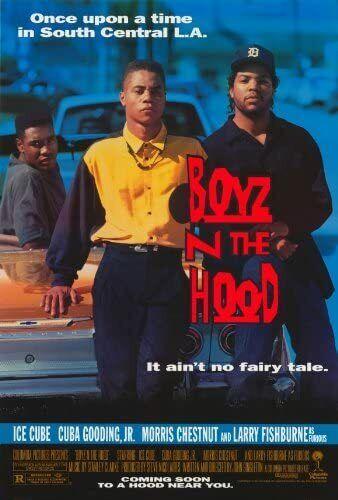 Movie Posters Boyz N The Hood Movie Poster