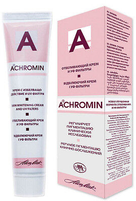 ACHROMIN Whitening Lightening Face Cream  Anti dark age spots freckles 45 ml