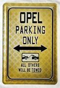 Opel Schild