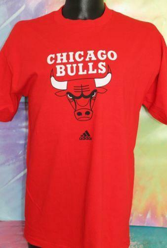 adidas chicago bulls t shirt ebay. Black Bedroom Furniture Sets. Home Design Ideas