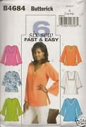 Ladies Top Sewing Pattern