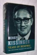 Henry Kissinger Signed