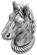 Horse Garden Statue