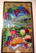 Stained Glass Wine
