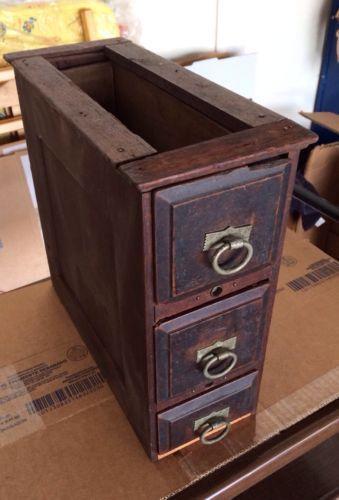 Vintage Sewing Machine Drawers Ebay