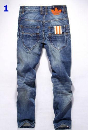 Mens Black Jeans Bootcut