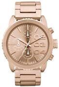 Diesel Rose Gold Watch