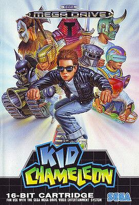 ## SEGA Mega Drive - Kid Chameleon / MD Spiel ## comprar usado  Enviando para Brazil