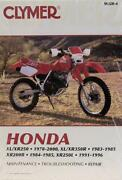 Honda XL250 Manual