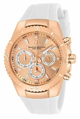 Technomarine Women's TM-218041 Manta Sea Quartz Rose Gold Dial Watch