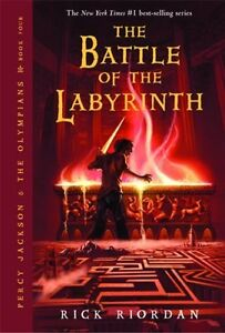 Percy Jackson & The Olympians: Battle of the Labyrinth, Book 4