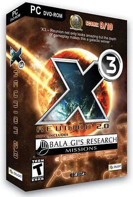 X3 Reunion 2 0 Inc  Bala Gis Research Missions Pc Game New In Retail Box Rare