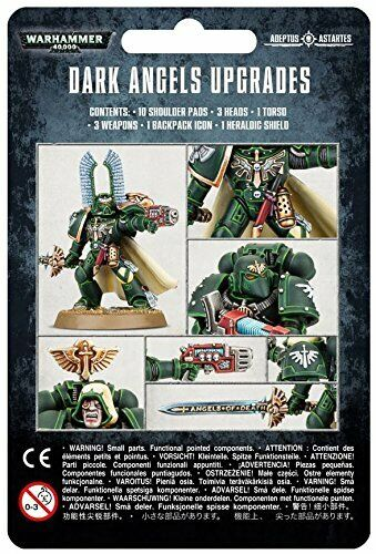 Dark Angels Upgrades Pack Warhammer 40K NIB Blister Pack