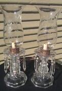 Vintage Lamp with Prisms