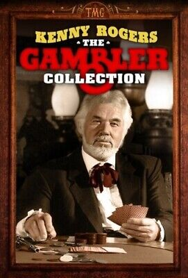 THE GAMBLER COLLECTION New DVD Kenny Rogers 3 Films + Coward of the County