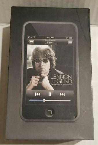APPLE iPod Touch 8GB MA623LL/B original BOX ONLY 1st Gen. Lennon Legend
