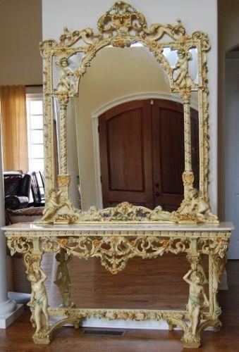 Italian Marble Table Ebay