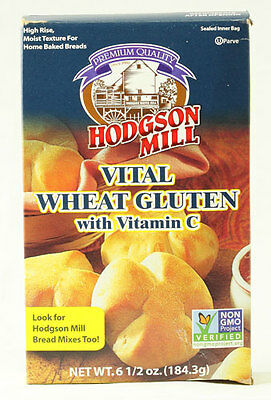 Vital Wheat Gluten w/Vitamin C  (Better Home Baked Breads) 6.5oz Box