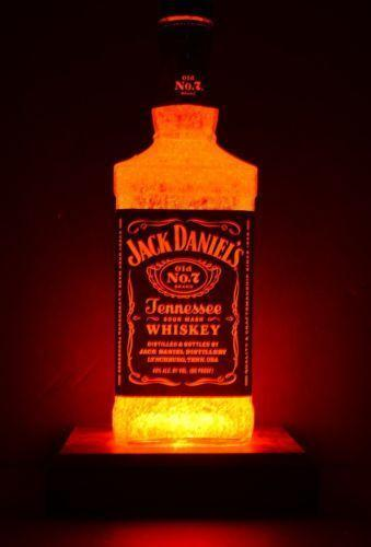 Jack Daniels Bottle Lamp Ebay