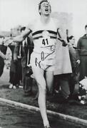 Roger Bannister Signed