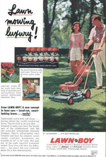Commercial Riding Lawn Mowers >> 1950 s Mower | eBay