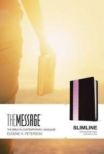 Message-MS-Slimline by Peterson, Eugene H. 9781631464324