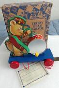 Fisher Price Bear Pull Toy