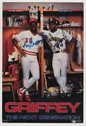 Ken Griffey Jr Autograph Photo