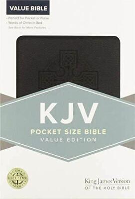 KJV Pocket Bible, Value Edition, Black