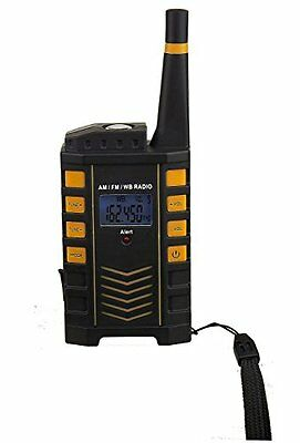 Kaito KA123 Digital AM FM NOAA Weather Radio with Alert & Flashlight