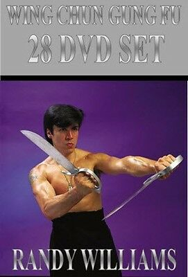 WING CHUN GUNG FU RANDY WILLIAMS (28) DVD SET