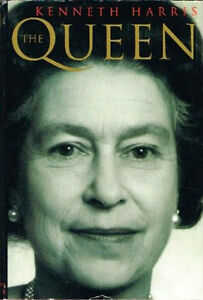 Kenneth Harris-The Queen-Hardcover -Excellent condition +