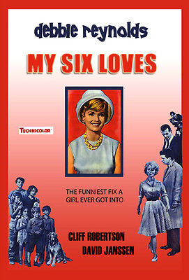 My Six Loves  Dvd  Debbie Reynolds  Cliff Robertson