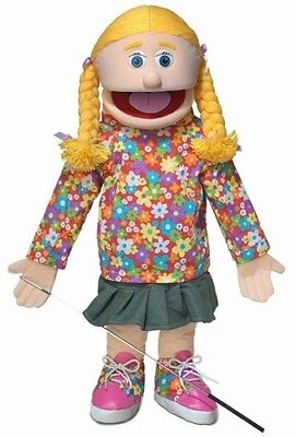 Silly Puppets Cindy (Caucasian) 25 inch Full Body Puppet