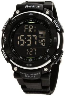 Armitron Sport Men's 40/8254BLK Black Digital Chronograph Wa