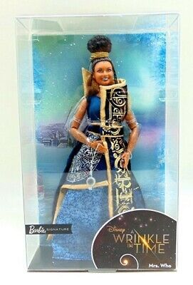 Disney Barbie A Wrinkle in Time Mrs. Who Doll Mindy Kaling On Liner No Box
