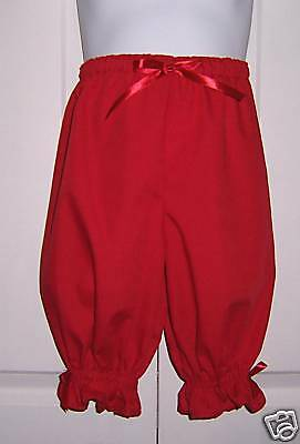 Boutique Bloomers Pantaloons Colors Custom Girls sz 2-8