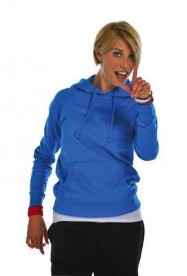 FDM Damen Ladies Raglan Hoodie Sweatshirt Kapuzenpullover - Raglan Hoodie Sweatshirt