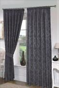 Black Damask Curtains
