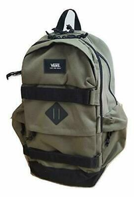 Vans PLANNED PACK 2 Backpack (NEW) Skate Board Straps OLIVE GREEN Laptop Sleeve
