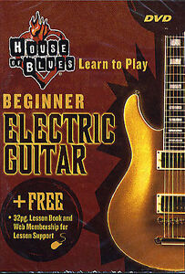 learn to play beginner electric guitar dvd tutor book ebay